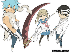 Soul Eater Chapter 62 - Cover