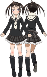 Tsugumi Halberd anime character art