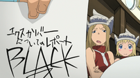 Soul Eater Episode 17 HD - Liz unimpressed with Black Star