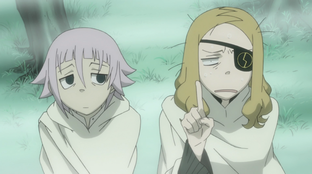 File:Soul Eater Episode 44 HD - Marie is flumoxed.png