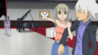 Soul Eater Episode 31 HD - Soul refuses to play the piano 1