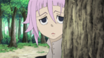 Soul Eater Episode 37 HD - Crona watches Maka and Soul Evans practice