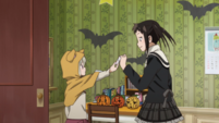 Soul Eater NOT Episode 10 HD - Kana delivers letter to Tsugumi