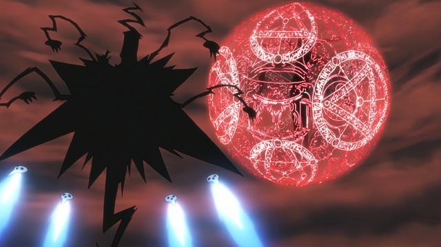 File:Soul Eater Episode 24 HD - Asura prepares his escape.png