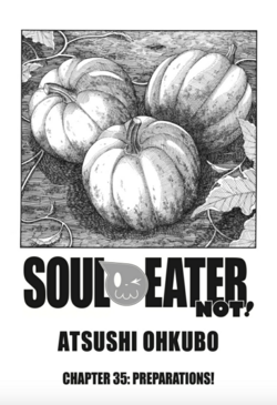Soul Eater NOT Chapter 35 - Cover