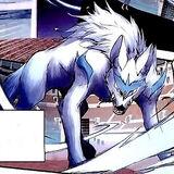 Wind Spirit Wolf