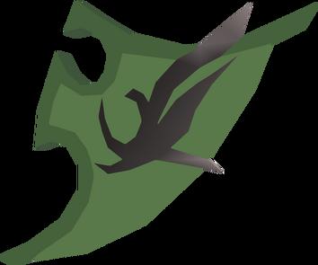 Divine spirit shield detail