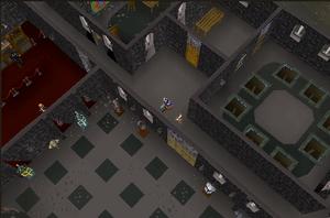 Warriors Guild Inside