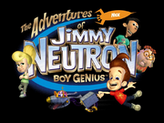 Jimmy neutron boy genius tv series logo
