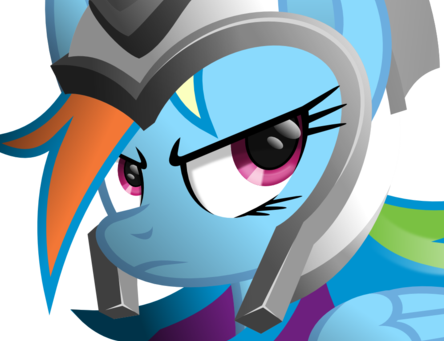 File:Rainbow dash the warrior by ratchethun-d5k26sj.png