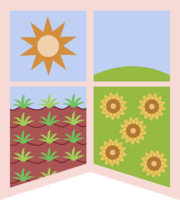 Earth pony banner vector