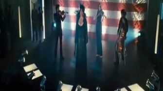 """National anthem scene in """"Southland Tales"""" by Rebekah Del Rio"""