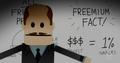 Conversion rate freemium