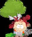 Kyle-tied-to-tree