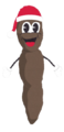 Mr. Hankey transparent