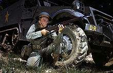 File:220px-Infantryman in 1942 with M1 Garand, Fort Knox, KY.jpg