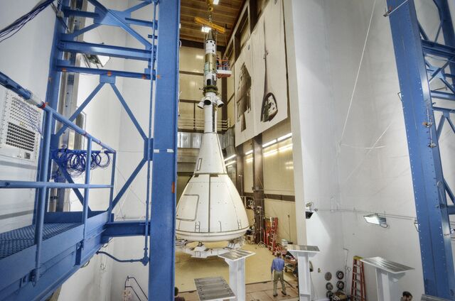 File:Orion Prepares for Next Round of Acoustic Testing.jpg