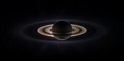 Saturn eclipse