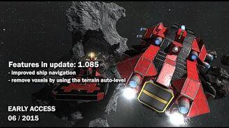 Space Engineers - Update 01.085 Improved Ship Navigation, Docking