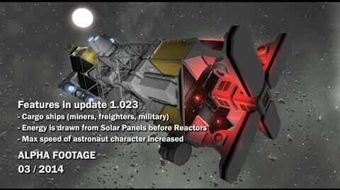 Space Engineers - Cargo Ships, Energy is drawn from Solar Panels before Reactors