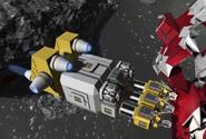 Large ship grinder