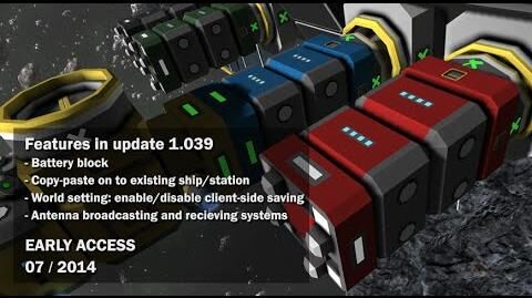 Space Engineers - Batteries, Antenna Communication