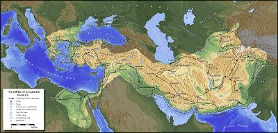 Map Alexander