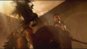 Magnetius defeating Trux
