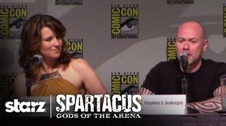Spartacus Gods of the Arena - San Diego Comic-Con 2010 Panel STARZ