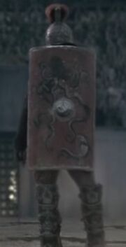 Crixus shield