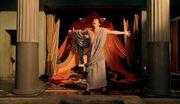 Batiatus celebrating