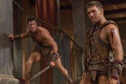 Dan-Feuerriegel-Liam-McIntyre-Spartacus-Vengeance-Monsters