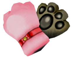 Cat Glove S 3D
