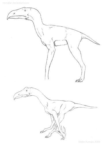 Terrorsaur concept sketches by osmatar-d6x2vp6