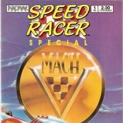Mach 5 special: includes blueprints for the Mach 5