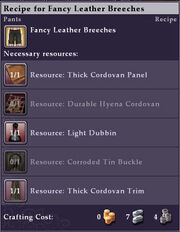 Recipe-Fancy-Leather-Breeches-Mouseover