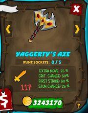 Yaggertys axe 31