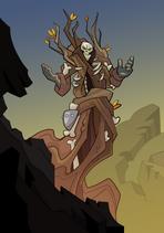 Treebound Skeleton A