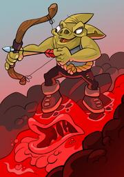 Goblin Elemental Surfer A