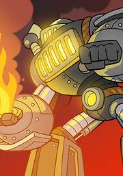 Fire Furnace A