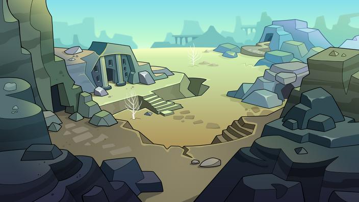 Mission Map Wasteland