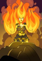 Flame Spirit A