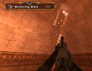Sphinx using Bouncing Darts