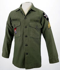 John lennon US army jacket reinhardt