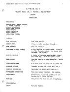 Spider Wars script