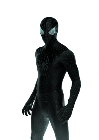 File:Black Suited Spider-Man (The Amazing Spider-Man 3).png