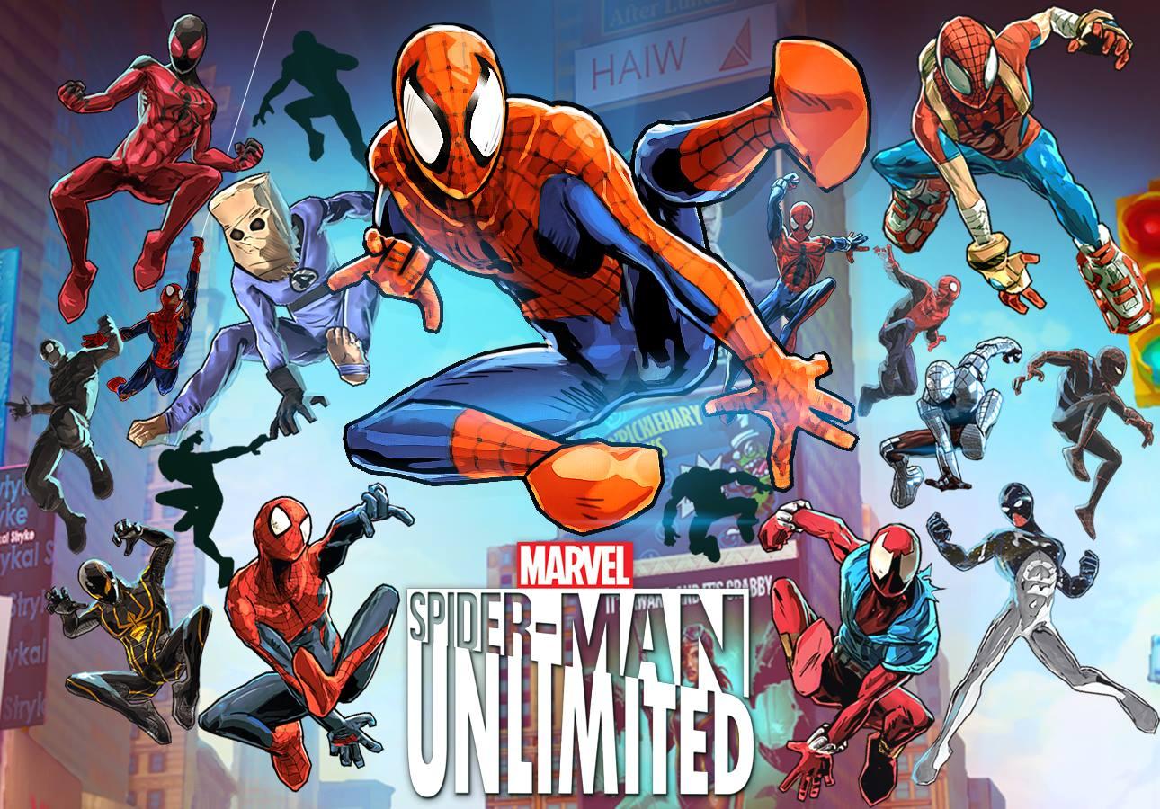 لعبه Spider-Man Unlimited v1.8.0g مهكره جاهزه