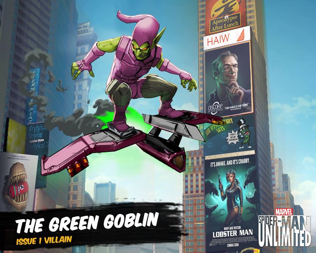 House of m green goblin - 44405