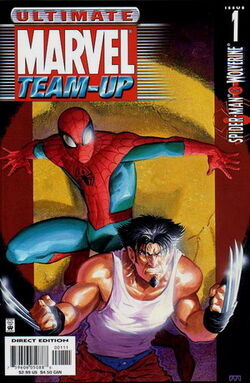 Ultimate Marvel TeamUP TPB1 cover
