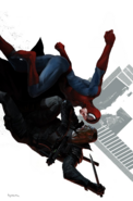 Vampire Spider-Man vs. Blade